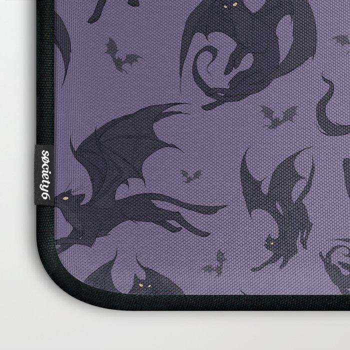 Batcats purple Laptop Sleeve