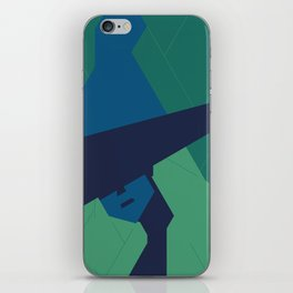 The blue Witch. iPhone Skin