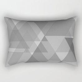 Gray bokeh Rectangular Pillow