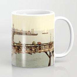1890 Victorian Jetty in Margate Kent Coffee Mug