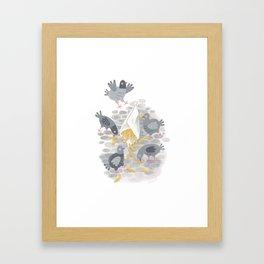 Belgian Fries Framed Art Print