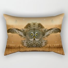 The greatest great gray of them all Rectangular Pillow
