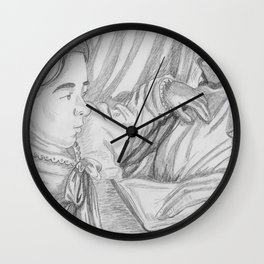 Father and Daughter Wall Clock
