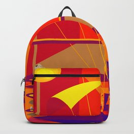 Stepping on May's Shoes - shoes stories Backpack