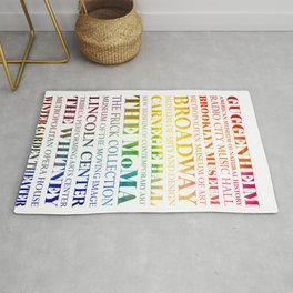 New York City - arts in color Rug