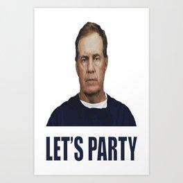 Let's Party Art Print