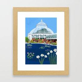 Botanical Gardens New York Framed Art Print