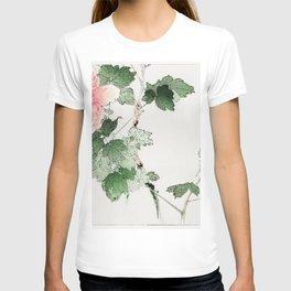 Tree peony  from Bijutsu Sekai (1893-1896) by Watanabe Seitei a prominent Kacho-ga artist T-shirt