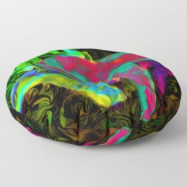 Northwoods Shrooms 343 Floor Pillow