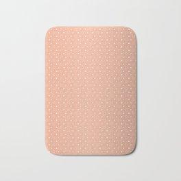 Art Deco, Simple Shapes Pattern 1 [ROSE GOLD] Bath Mat