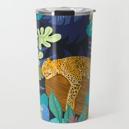 Sleeping Panther Travel Mug