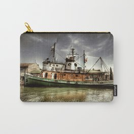 Boat on The River Carry-All Pouch