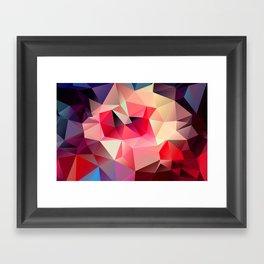 Joy Triangles VII Framed Art Print