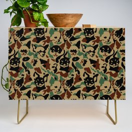 Chihuahua Camouflage Credenza