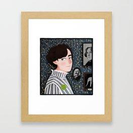 the elephant in the room Framed Art Print
