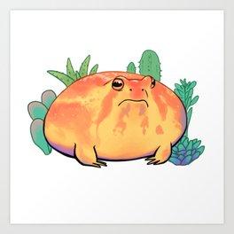 Chubby Rain Frog Kunstdrucke