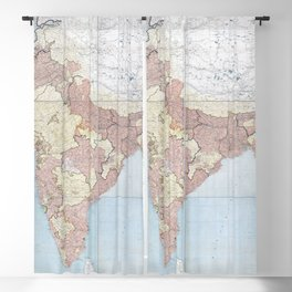 Geography And Geology Of The Himalayas - 1933 Blackout Curtain