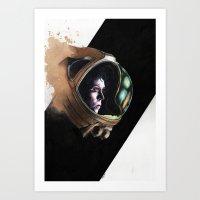 ripley Art Prints featuring Ripley by maxandr