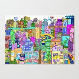 Tel Aviv (Color) Canvas Print