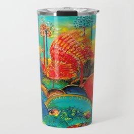 Fire bird Travel Mug