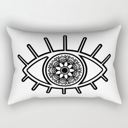 Mandala Evil Eye Rectangular Pillow