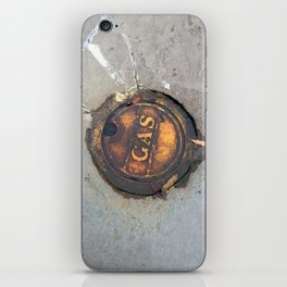 Sidewalk Fuel iPhone Skin
