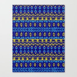 Boho Electric Canvas Print