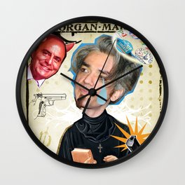 COLLAGE: Morgan Wall Clock