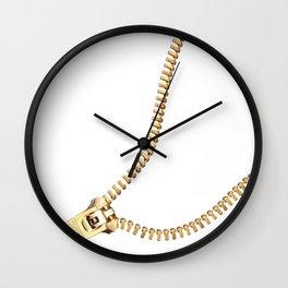 zip #society6 #decor #buyart Wall Clock