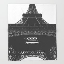 French Cliche Throw Blanket