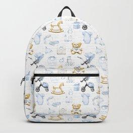 Baby Boy Fashion Pattern Backpack