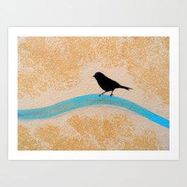 Little Black Bird Kunstdrucke