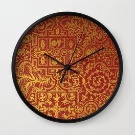 Antique Book Cover Wall Clock
