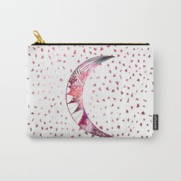 Majestic Moon Hand Drawn Nebula Abstract Stars Carry-All Pouch