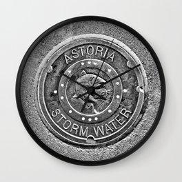 Astoria Storm Water, Monotone Wall Clock