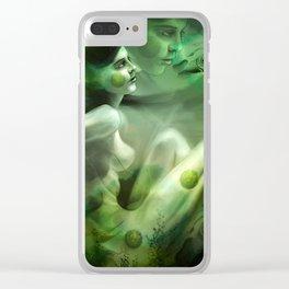 Aquatic Creature Clear iPhone Case