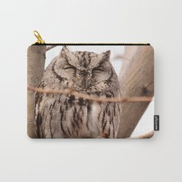 Wild Owl - Ivins, Utah Carry-All Pouch