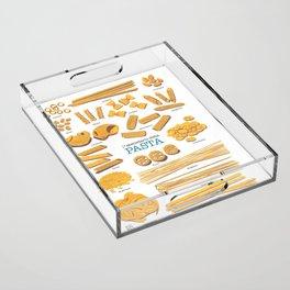 Pasta Acrylic Tray