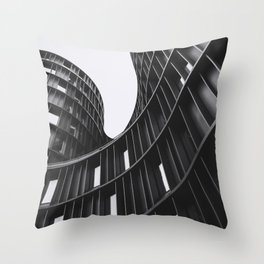 AXEL TOWERS (graphite) / Copenhagen, Denmark Throw Pillow