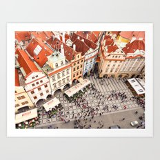 PRAGUE 1 Art Print