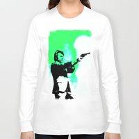 clint barton Long Sleeve T-shirts featuring Clint by Fimbis