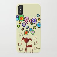 lil bub iPhone & iPod Cases featuring Bub bubles by UXUA art