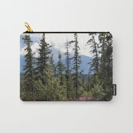 For Spacious Skies :: Purple Mountains Majesty Carry-All Pouch