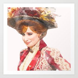 Hello, Dolly! - Barbra Streisand - Watercolor Art Print
