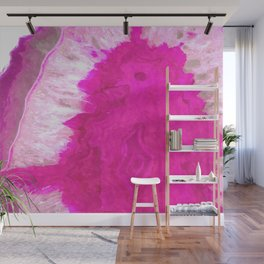 Druze Pink Agate Wall Mural