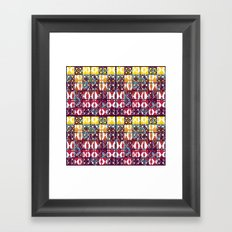 Pattern_2016_01  Framed Art Print