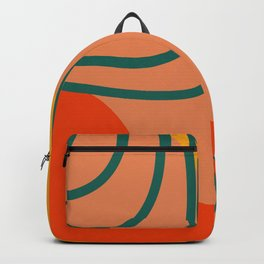 Geo abstract shapes 4 Backpack