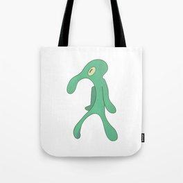 Transparent Bold and Brash Tote Bag