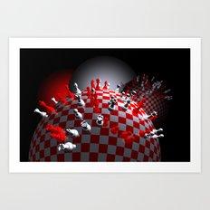 do you like chess Art Print