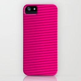 Funky Lines (Fuchsia/DarkMagenta) iPhone Case